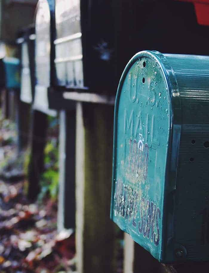U.S. Mail Contact