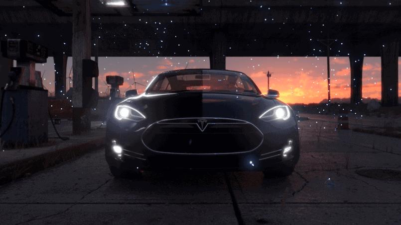 Tesla Ad