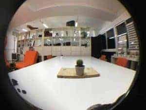 Ejemplo fotografía iPhone 6S Plus con objetivos para smartphone K&F FishEye