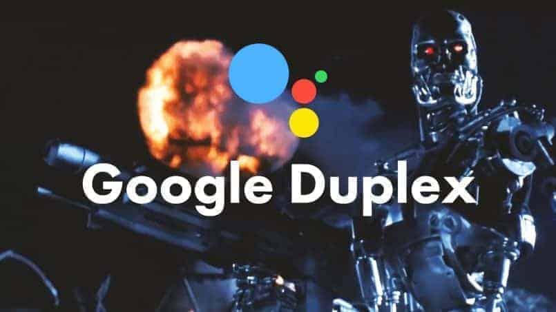 Google Duplex y Terminator