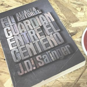 Libro - El guardian entre el centeno de J.D. Salinger