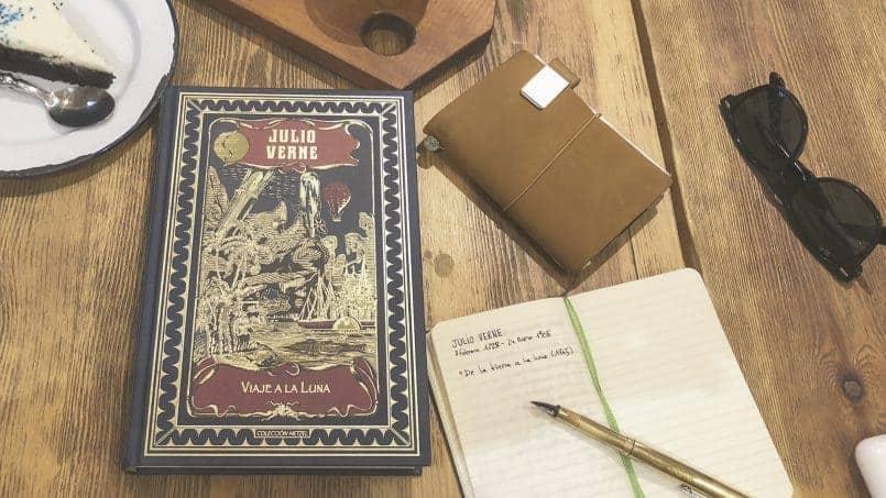 Julio Verne Viaje a la luna libro